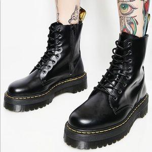 Dr Martens Jadon boots worn 2 times